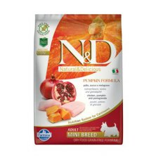N&D GF Pumpkin DOG Adult Mini Chicken&Pomegranate 7kg