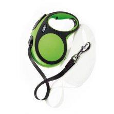 Vodítko flexi Comfort L pásek 5m/60kg zelená