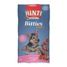 Rinti Dog pochoutka Extra Bits Puppy kuře+kachna 75g
