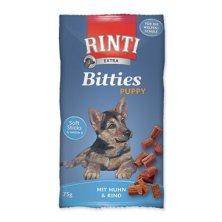 Rinti Dog pochoutka Extra Bits Puppy kuře+hovězí 75g