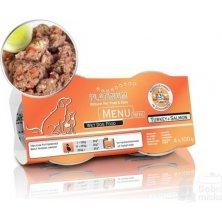 Platinum Menu Mini Turkey+Salmon 4x100g