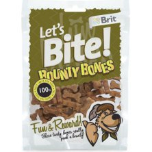 Brit pochoutka Let´s Bite Bounty Bones 150g NEW