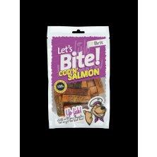Brit pochoutka Let´s Bite Cod´n´Salmon 80g NEW