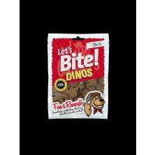 Brit pochoutka Let´s Bite Dinos 150g NEW