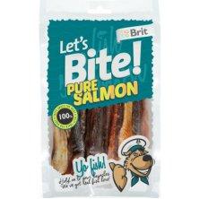 Brit pochoutka Let´s Bite Pure Salmon 80g NEW