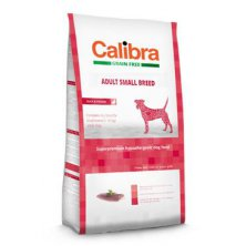 Calibra Dog GF Adult Small Breed Duck  7kg NEW
