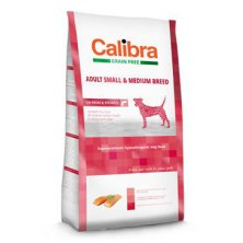 Calibra Dog GF Adult Medium & Small Salmon  2kg NEW