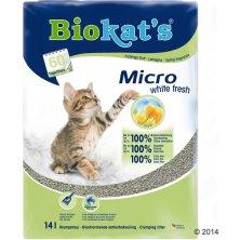 Podestýlka Biokat´s Micro White Fresh 14l