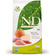 N&D Grain Free CAT Adult Boar & Apple 5kg