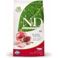 N&D Grain Free CAT Adult Chicken & Pomegranate 5kg