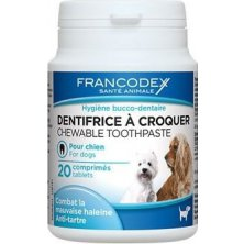 Francodex Toothpaste tablety 20cps