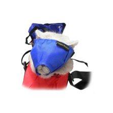 Náhubek fixační s přikrytím očí pro kočky L BUSTER