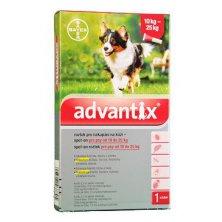 Advantix Spot On 1x2,5ml pro psy 10-25kg (1 pipeta)