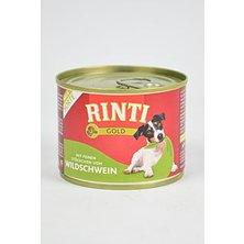 Rinti Dog Gold konzerva divočák 185g