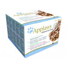 Konzervy APPLAWS Cat Fish Selection multipack 12 x 70 g (840g)