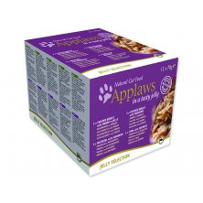 Konzervy APPLAWS Cat Jelly Selection multipack 12 x 70 g (840g)