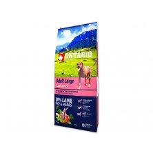 ONTARIO Dog Adult Large Lamb & Rice & Turkey (12kg)