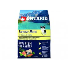 ONTARIO Senior Mini Fish & Rice (2,25kg)