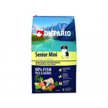 ONTARIO Senior Mini Fish & Rice (6,5kg)