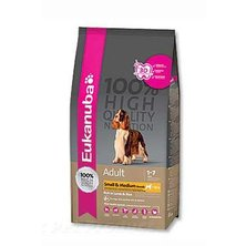 Eukanuba Dog Adult Lamb&Rice Small&Medium 12kg