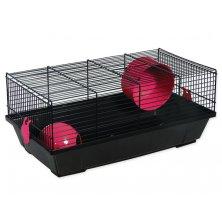 Klec SMALL ANIMALS Viktor černá s červenou výbavou
