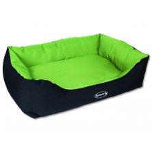 Pelíšek SCRUFFS Expedition Box Bed limetkový XL