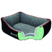 Pelíšek SCRUFFS Thermal Box Bed černý XL