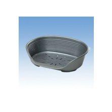 Pelech plast SIESTA DLX 10 stříb 93,5x68x28cm FP 1ks