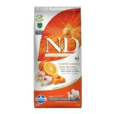 N&D GF Pumpkin DOG Adult M/L Codfish & Orange 12kg