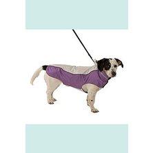 Obleček Raincoat Béžová/Fialová 46cm L KRUUSE