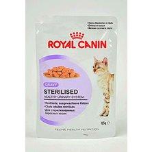 Royal canin Kom.  Feline Sterilised kaps ve šťávě 85g