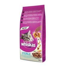 Whiskas Dry s kuřecím masem - STERILE 14kg