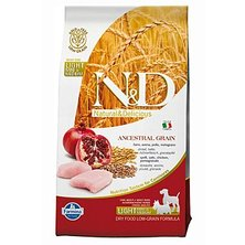 N&D Low Grain DOG Light S/M Chicken & Pomegr 800g