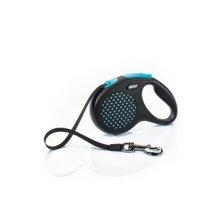 Vodítko FLEXI Design L pásek 5m/50kg modrá