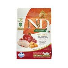 N&D GF Pumpkin CAT NEUTERED Quail & Pomegranate 300g