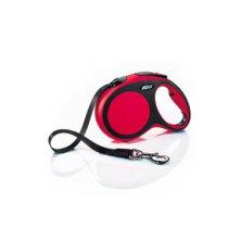 Vodítko flexi Comfort L pásek 5m/50kg červená