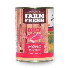 Farm Fresh Dog Monoprotein konzerva Beef 800g