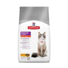 Hill´s Feline Dry Sensitive Stomach s kuřetem 5kg