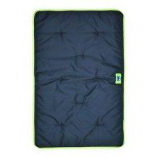 Polštář JOLLY 100 černý+zelený lem  FP 1ks