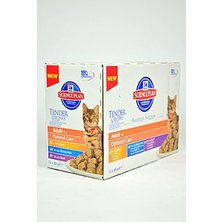 Hill´s Feline kapsa Adult Multipack Ch.,O.F.,B 12x85g