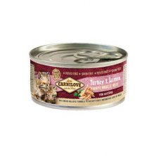 Carnilove White Muscle Meat Turkey&Salmon Kittens 100g