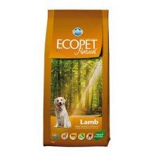 Ecopet Natural Adult Lamb Mini 12kg+2kg ZDARMA