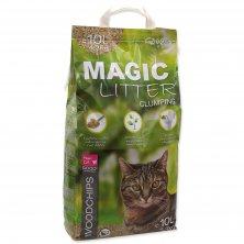 Kočkolit MAGIC CAT Litter Woodchips 10l (4,3kg)