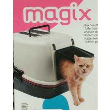 WC kočka kryté domek Magix 55,5x45,5x41cm FP 1ks