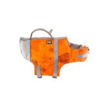 Vesta plavací Hurtta Life Savior 10-20kg oranžová camo
