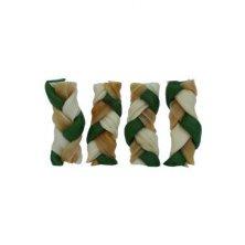 "Magnum Rawhide Small Braid 2,5"" green 40ks"