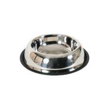 Miska nerez protiskluz pes STEEL 0,90 l Zolux