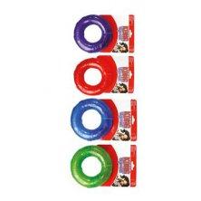 Hračka pes KONG Kroužek pískací M mix barev