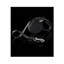 Vodítko FLEXI Classic NEW XS pásek 3m/12kg černá