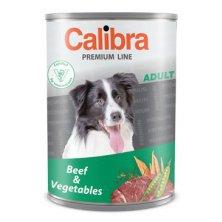 Calibra Dog  konz.Premium Adult hovězí+zelenina 800g
